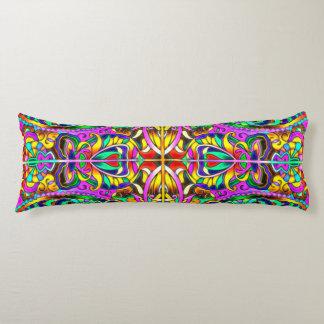 Oriental Watercolor Pattern III + your ideas Body Pillow