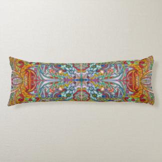 Oriental Watercolor Pattern IV + your ideas Body Pillow