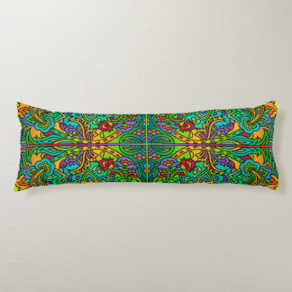 Oriental Watercolor Pattern V + your ideas Body Pillow