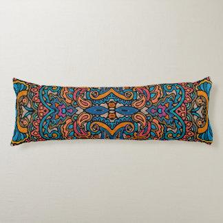 Oriental Watercolor Pattern VI + your ideas Body Pillow