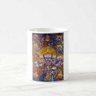 Oriental Yamantaka death god tattoo art Coffee Mug