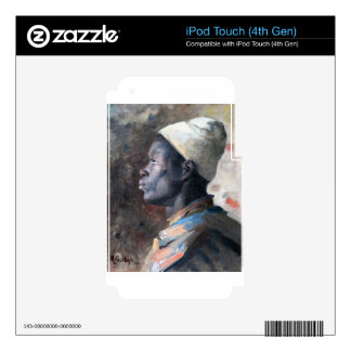 Orientalist Head of a Young Moor iPod Touch 4G Skins