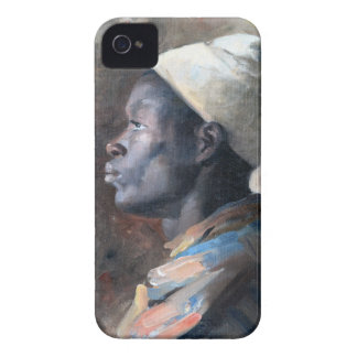 Orientalist Portrait of a Young Moor Painting iPhone 4 Case-Mate Case