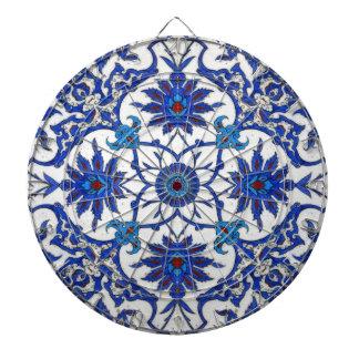 Oriente azul tablero de dardos