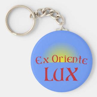Oriente ex lux llaveros personalizados