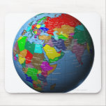 Oriente Medio en el globo Mousepads