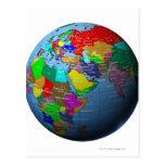 Oriente Medio en el globo Postal
