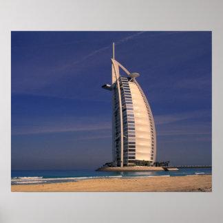 Oriente Medio United Arab Emirates Dubai Burj Poster