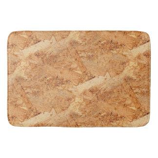 oriented strand board - OSB seamless pattern Bathroom Mat