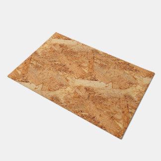oriented strand board - OSB seamless pattern Doormat