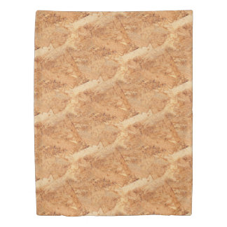 oriented strand board - OSB seamless pattern Duvet Cover
