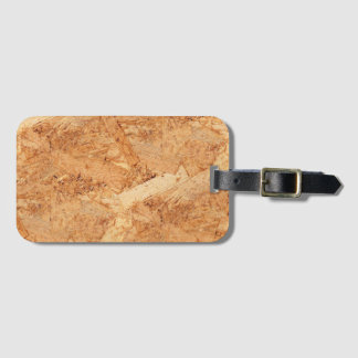 oriented strand board - OSB seamless pattern Luggage Tag