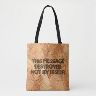 oriented strand board - OSB seamless pattern Tote Bag