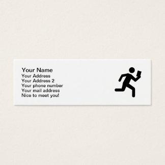 Orienteering Mini Business Card