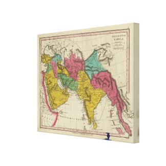 Orientis Tabula Canvas Print