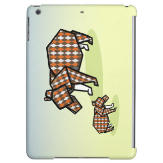 Origami Bears Made With Argylr Patterned Paper iPad Air Cases