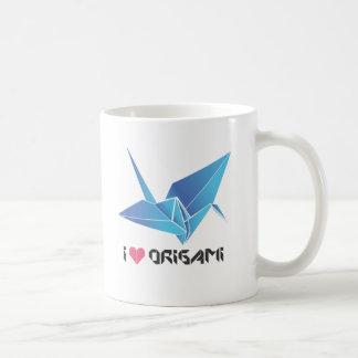 origami bird coffee mug