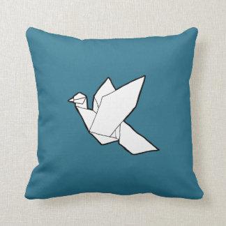 Origami Bird Pillow