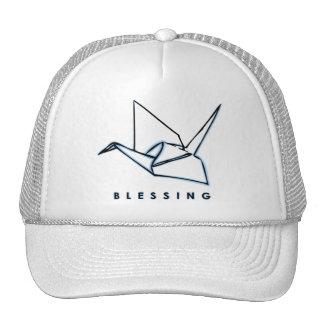 Origami Blessing Paper Crane Hat