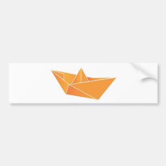 origami bumper stickers car stickers zazzle. Black Bedroom Furniture Sets. Home Design Ideas