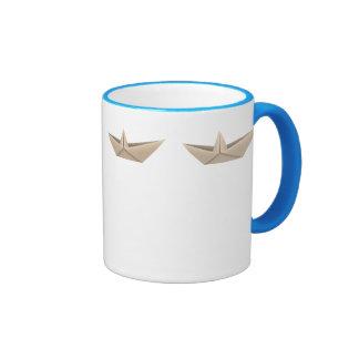 Origami Boat Ringer Mug