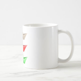 Origami Boats Coffee Mug