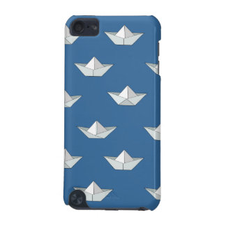 Origami Boats On The Water Pattern iPod Touch 5G Case