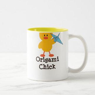 Origami Chick Mug