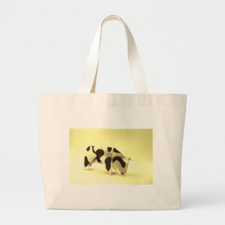 Origami cow bags