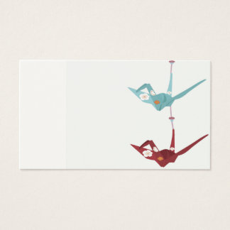Origami crane Business Card