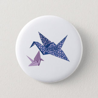 Origami Crane Button