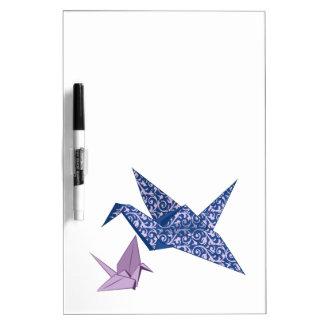 Origami Crane Dry-Erase Board