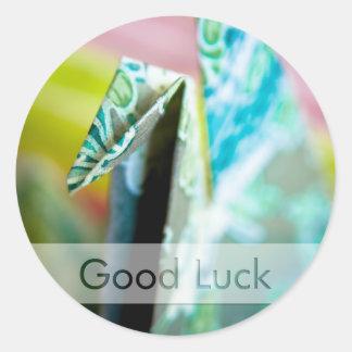 Origami Crane • Good Luck Sticker