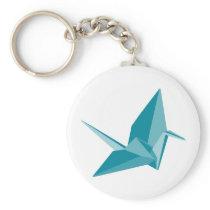 Origami Crane Keychain