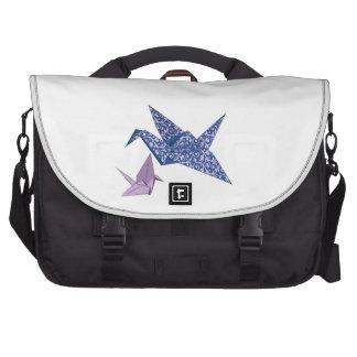 Origami Crane Commuter Bag