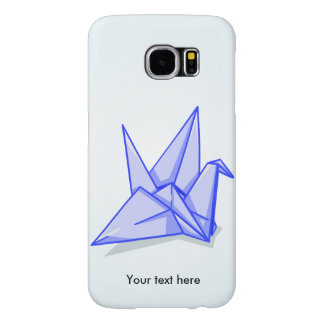 Origami Crane Paper Craft Samsung Galaxy S6 Case