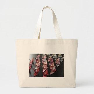 Origami Cranes Canvas Bag