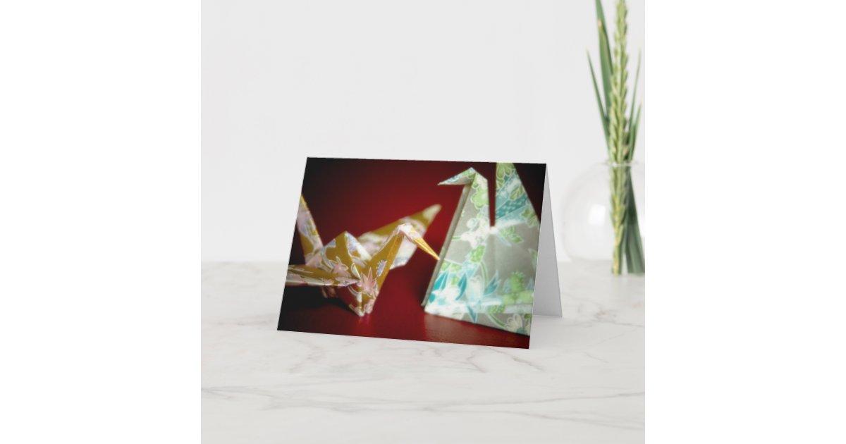 Crane card holder - DIY Origami Tutorial by Paper Folds ... | 630x1200