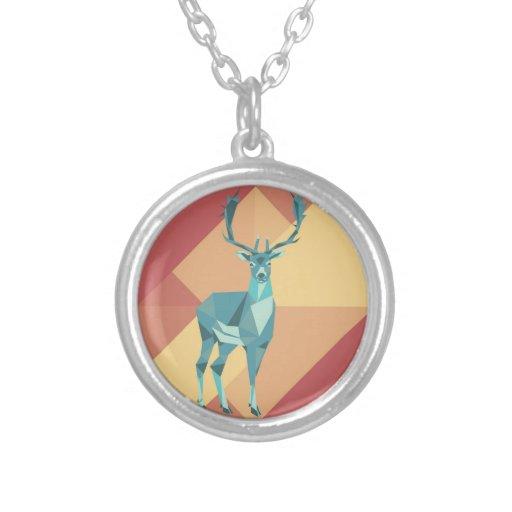 Origami Deer Necklaces