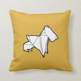 Origami Dog Pillow