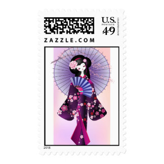 Origami Doll 2 Postage