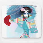 Origami Doll Mouse Pad