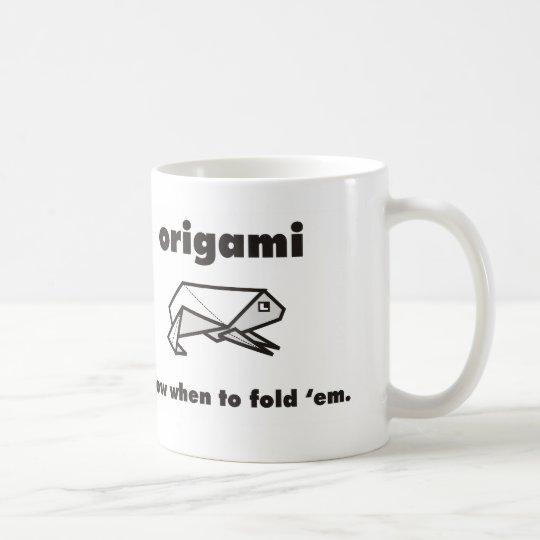 Origami Fans Coffee Mug