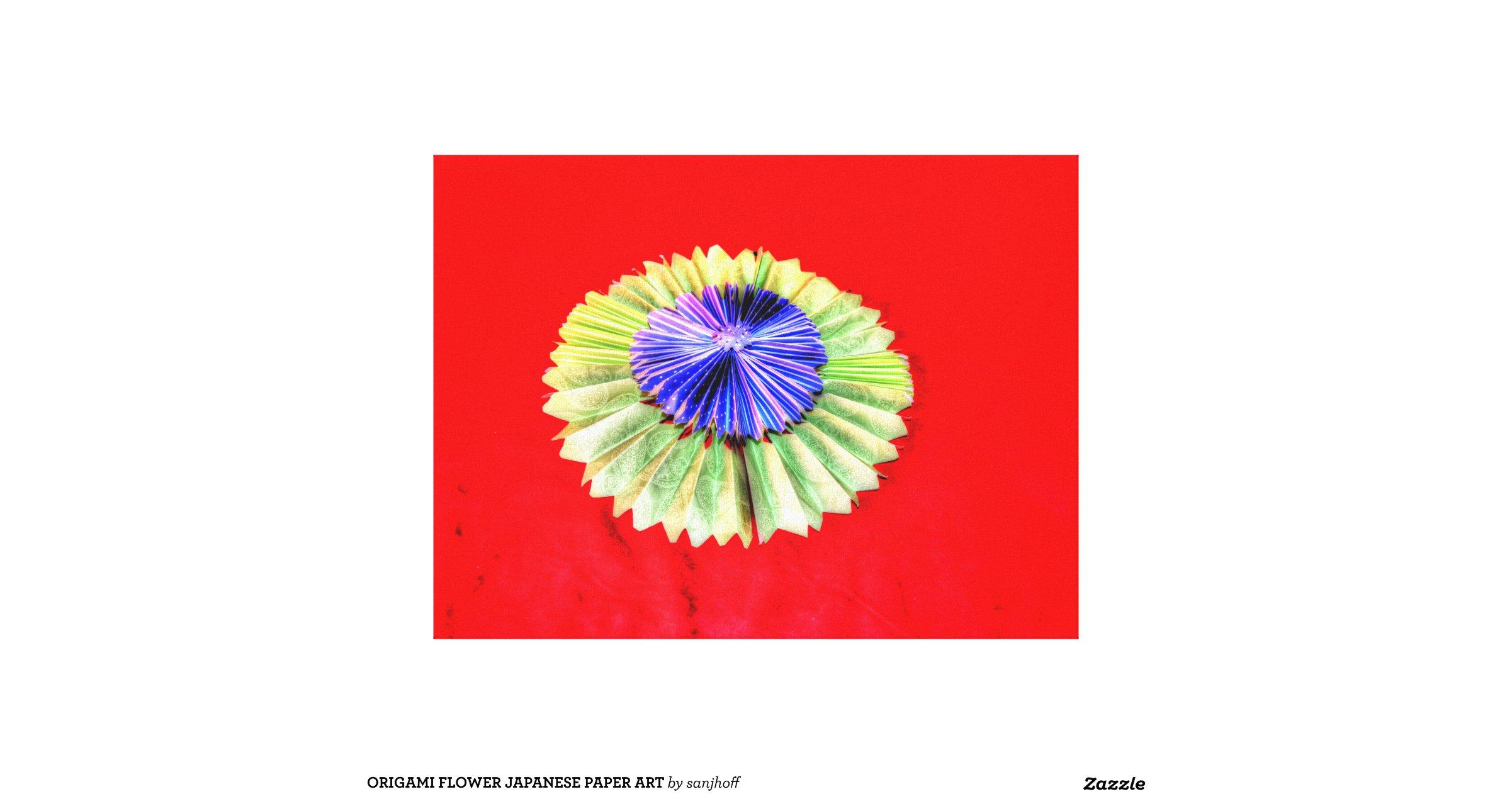 origami_flower_japanese_paper_art_canvas_print ... - photo#44