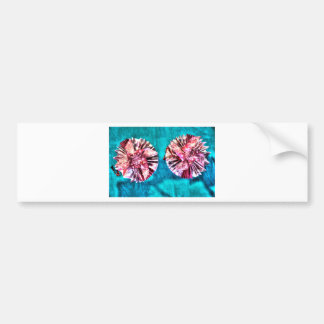 ORIGAMI FLOWERS JAPANESE PAPER ART BUMPER STICKER