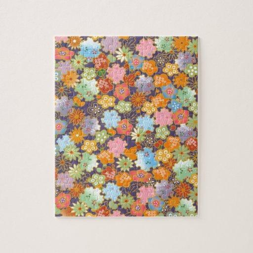 Origami Flowers Puzzles