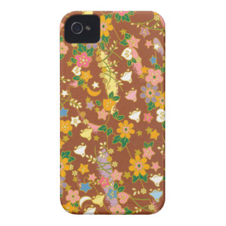 Origami Flowers Stars Case-Mate iPhone 4 Cases
