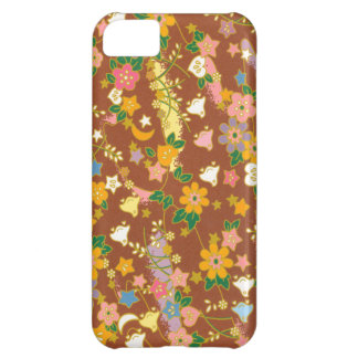 Origami Flowers Stars iPhone 5C Cover