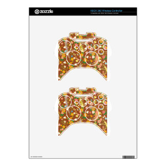 Origami Flowers & Stars Xbox 360 Controller Skins