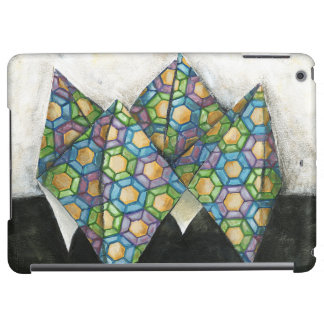 Origami Fortune Teller on Geometric Paper Cover For iPad Air